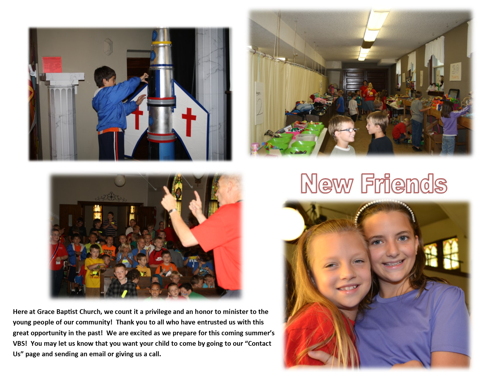 VBS, Grace Baptist church